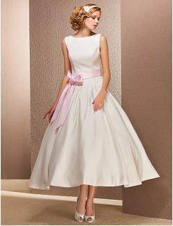 Nz Bride® Princesa Tallas Pequeñas Tallas Grandes Vestido De Boda Moderno Y Chic Vestidos De RecepciónSimplemente Sublime
