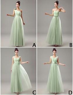 Dress Sheath Column V Neck Long Floor Length Tulle Dress With Crystal Detailing