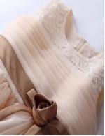 2017 Ball Gown Short Knee Length Flower Girl Dress Organza Sleeveless Jewel With Beading Flower Sash Ribbon