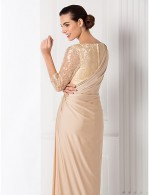 Prom Gowns New Zealand Formal Evening Dress Military Ball Dress Plus Size Petite Sheath Column Bateau Long Floor Length Lace Dress Jersey With Side Draping