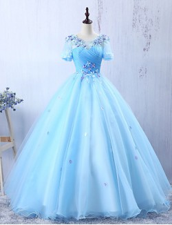 New Zealand Formal Evening Dress A Line Jewel Long Floor Length Chiffon Lace With Appliques