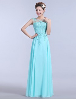 New Zealand Formal Evening Dress A Line Strapless Long Floor Length Chiffon With Appliques Beading Embroidery