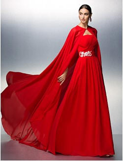 Prom Gowns New Zealand Formal Evening Dress Plus Size Petite A Line Strapless Long Floor Length Chiffon WithAppliques Beading Sash