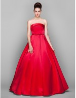 Prom Gowns New Zealand Formal Evening Dress Military Ball Black Tie Gala Dress Elegant Vintage Inspired Plus Size Petite Ball Gown Strapless