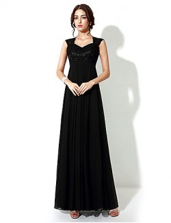 New Zealand Formal Evening Dress A Line Long Floor Length With Embroidery