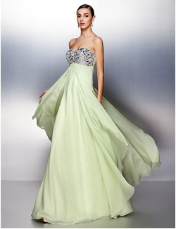 Prom Gowns New Zealand Formal Evening Dress Plus Size Petite A Line Sweetheart Long Floor Length Chiffon With Beading Crystal Detailing Ruching Sequins