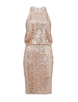 New Zealand Cocktail Party Dress Sheath Column Jewel Short Mini Sequined With Sequins