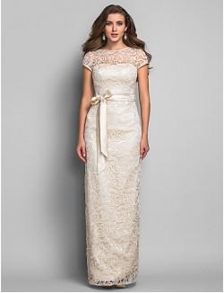 New Zealand Formal Evening Dress Military Ball Dress Elegant Apple Hourglass Inverted Triangle Pear Plus Size Petite Misses Sheath Column