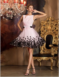 New Zealand Cocktail Party Dresses Prom Gowns Holiday Company Party Dresses Family Gathering Dress Vintage Inspired Elegant Plus Size Petite Sheath Column