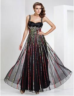 New Zealand Formal Evening Dress Military Ball Dress Open Back Elegant Sheath Column Sweetheart Straps Long Floor Length Tulle Dress WithBeading Draping