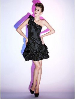 New Zealand Cocktail Party Dresses Homecoming Holiday Dress Little Black Dress ShortApple Hourglass Inverted Triangle Pear Rectangle Plus
