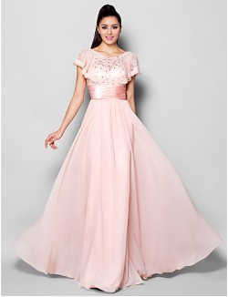 New Zealand Formal Evening Dress Plus Size Petite A Line Jewel Long Floor Length Chiffon With Crystal Detailing Lace Ruching