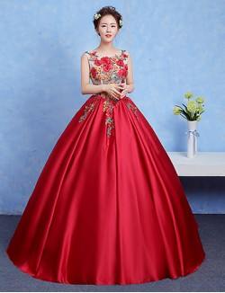 New Zealand Formal Evening Dress Ball Gown Jewel Long Floor Length Jersey With Appliques Beading