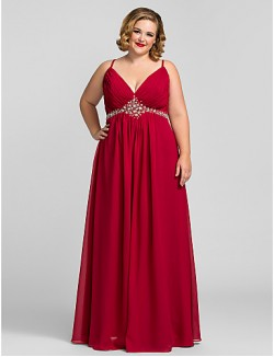 Prom Gowns New Zealand Formal Evening Dress Military Ball Dress Open Back Plus Size Petite A Line V Neck Long Floor Length Chiffon WithCrystal Detailing