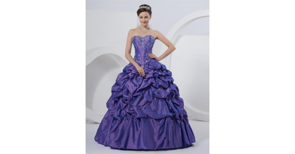 Ball Gown Sweetheart Floor-length Embroidery Corset